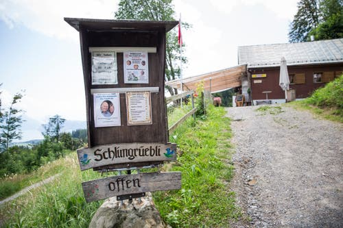 Das Schlimgrüebli unterhalb der Krienseregg. (Bild: Manuela Jans-Koch, Kriens, 14. Juli 2019)
