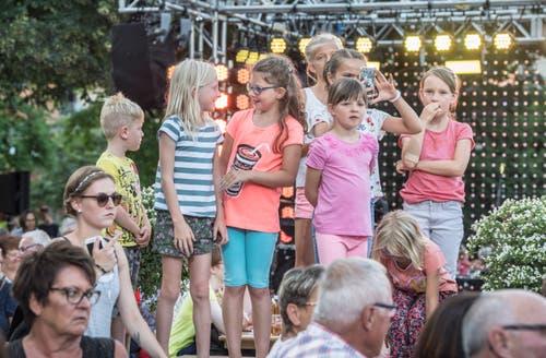 «Donnschtig-Jass» Livesendung in Arbon. (Bild: Andrea Stalder)