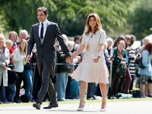 Roger Federer zieht mit seiner Familie nach Rapperswil-Jona. (Bild: KEYSTONE/AP POOL/KIRSTY WIGGLESWORTH)