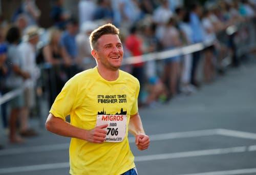 Fabio Traber aus Oberägeri. (Bild: Stefan Kaiser, Oberägeri, 19. Juli 2019)