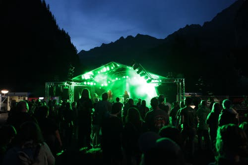 Das Festival bot eine einzigartige Kulisse. (Bild: Florian Arnold, 20. Juli 2019)