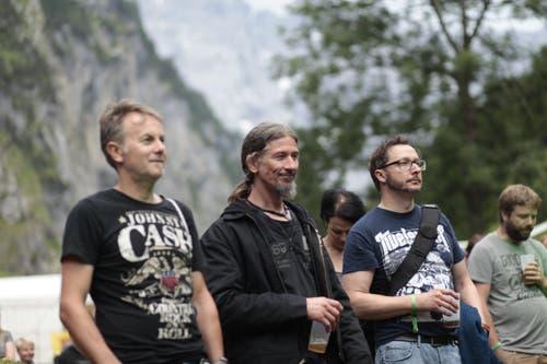 Die Besucher konnten die Musik vor einer top Kulisse geniessen. (Bild: Florian Arnold, 20. Juli 2019)