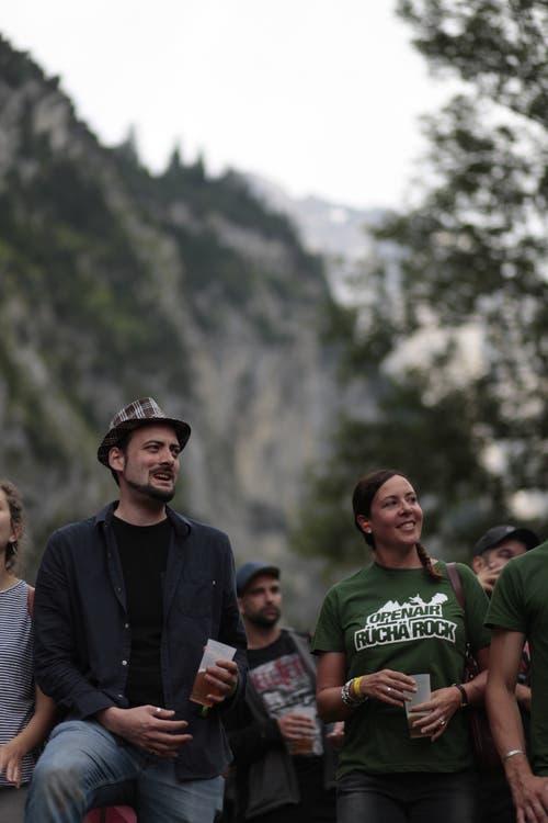 Die Stimmung unter den Besuchern war sehr gut. (Bild: Florian Arnold, 20. Juli 2019)