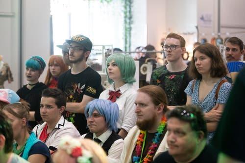 Die zweite Zuger Fantasy-Convention Unicon hat am Wochenende im Burgbachsaal stattgefunden. (Bild: Roger Zbinden, Zug, 20. Juli 2019)