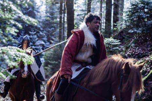 Der bekannte deutsche Schauspieler Carlo Ljubek spielt den Landvogt Gessler. (Bild:pd)