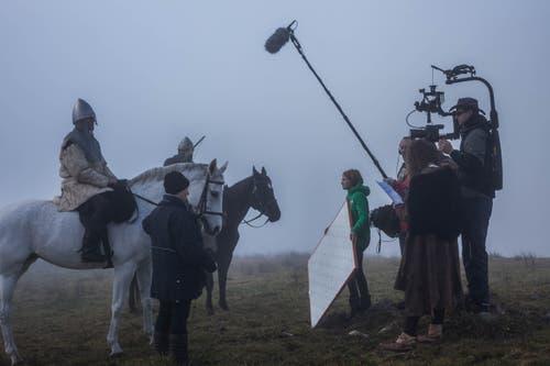Das Wetter spielte eine wichtige Rolle für die Stimmung der Szenen. «Wir hatten unglaubliches Wetterglück», sagt Luke Gasser. (Bild:pd)