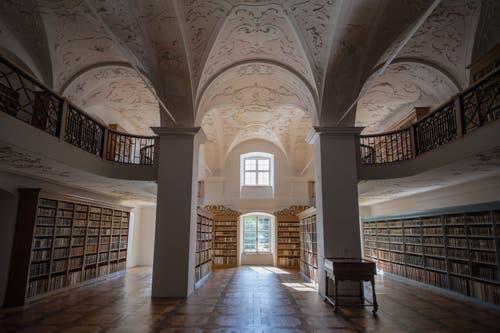 Die Bibliothek. (Bild: Keystone/Urs Flüeler, Engelberg, 17. Juli 2019)
