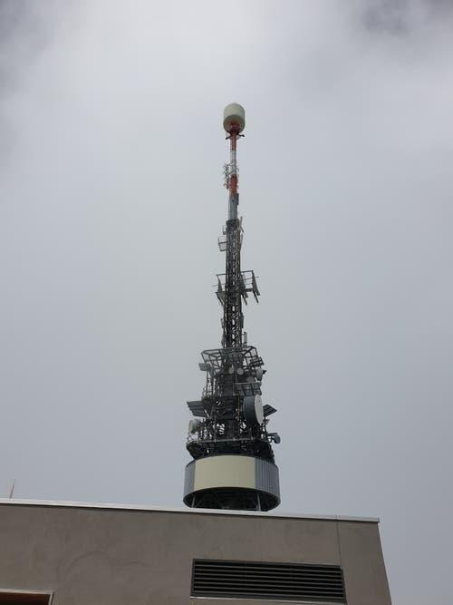 Funkturm auf dem Hohen Kasten