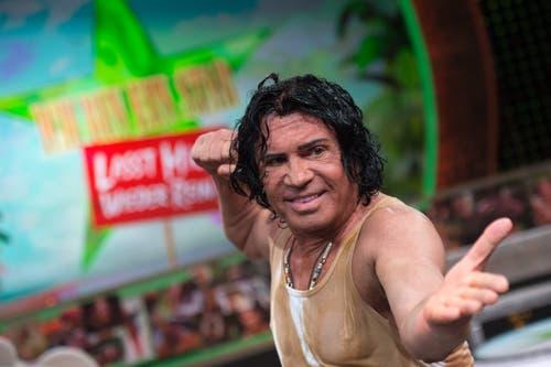 Auch für eine Teilnahme in der Reality-Show «Ich bin ein Star - Lasst mich wieder rein!» war er sich nicht zu schade. (Bild: KEYSTONE/DPA/Marius Becker)