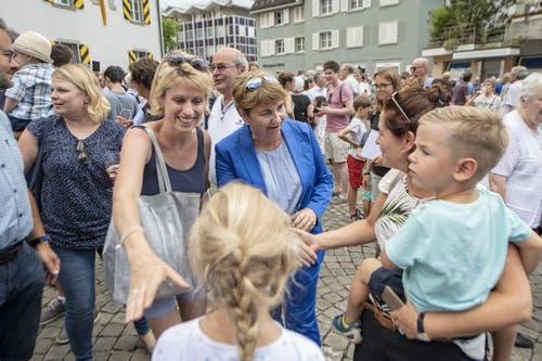 (Bild: Urs Flüeler/Keystone, Altdorf, 4 Juli 2019)