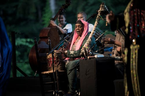 Auftritt des Mazaher Ensembles aus Ägypten.