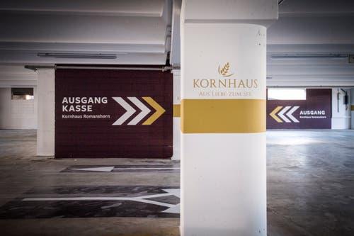 Romanshorn TG - Die renovierte Tiefgarage des Karhauses in Romanshorn.