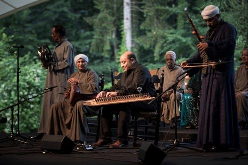 Auftritt des Tarab Quintett aus Ägypten.