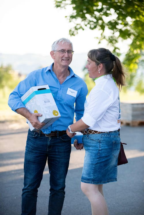 Impressionen von der Jubiläumsfeier der landwirtschaftlichen Schule Hohenrain. (Bild: PD)
