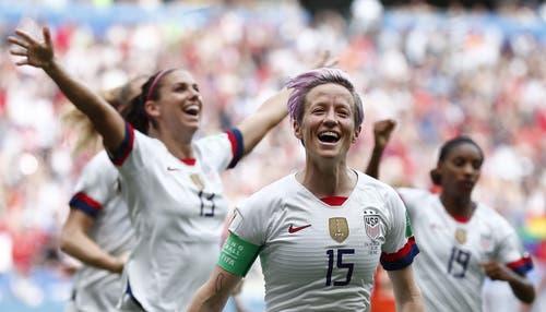 Die US-Frauen gewinnen zum vierten Mal die WM. (Bild: KEY)