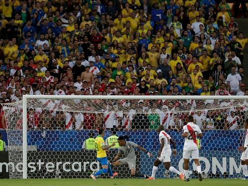 Everton erzielt nach einer Viertelstunde das 1:0 (Bild: KEYSTONE/AP/LEO CORREA)