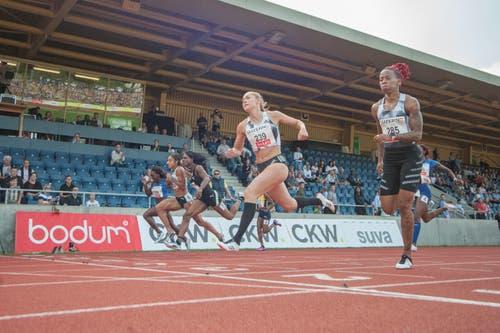 Die Leichtathletik-Elite war heute auf der Luzerner Allmend zu Gast. (Bild: Pius Amrein. Luzern, 9. Juli 2019)
