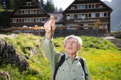 Max Niedermann hat zahlreiche Erstbesteigungen gemacht – auch im Alpstein-Gebiet. (Bild: Ralph Ribi)