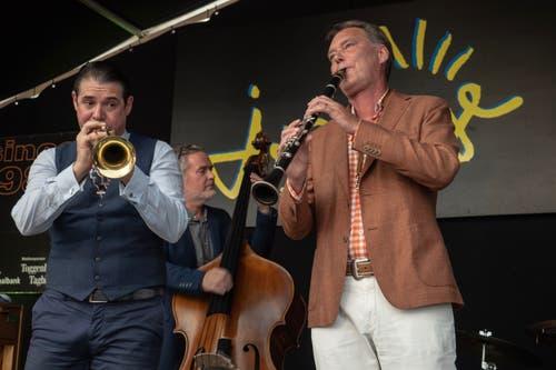 Frank Roberscheuten an den 31. Jazztagen Lichtensteig. (Bild: Sascha Erni)