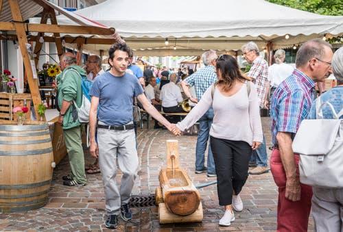 Eindrücke vom Winzerfest in der Frauenfelder Altstadt. (Bilder: Andrea Stalder)