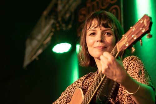 Katharina Busch an den 31. Jazztagen Lichtensteig. (Bild: Sascha Erni)