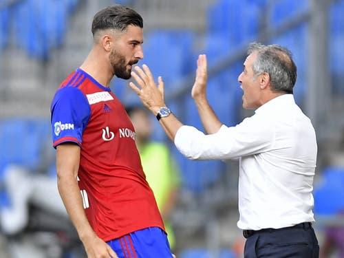 Kemal Ademi kann der Schlüsselspieler sein. Vielleicht wird ihn Marcel Koller erneut beglückwünschen (Bild: KEYSTONE/WALTER BIERI)