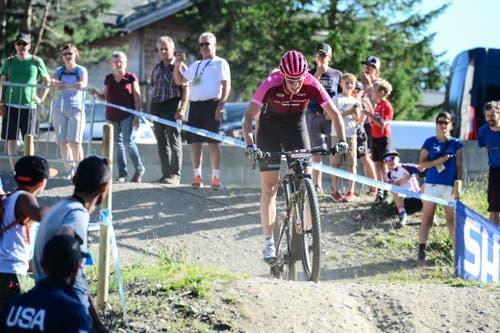 Linda Indergand fuhr auf den 23. Rang. (Bild: Roland Jauch, Lenzerheide, 9. August 2019)
