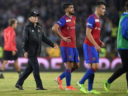 Basel dagegen muss sich in der Gruppenphase der Europa League aufraffen (Bild: KEYSTONE/EPA/ANDREAS SCHAAD)