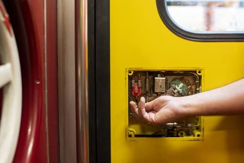 Die Technik des Einklemmschutzes (Bild: Keystone/Ennio Leanza)