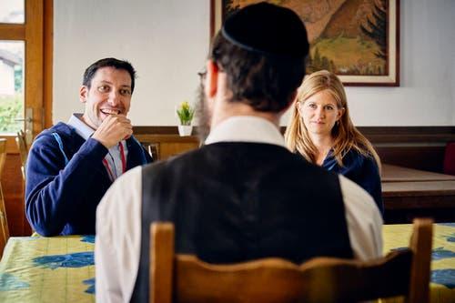 Bis zu 100'000 Übernachtungen zählt Saas-Grund dank jüdischer Touristen. (Bild: Colin Frei)