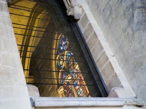 Die Kirchenfenster gehören zu den bedeutendsten der Schweiz. (Bild: Keystone/JEAN-CHRISTOPHE BOTT)