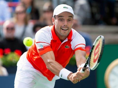 Und der Spanier Roberto Bautista Agut (ATP 11) könnte bis Mitte Oktober noch unter die besten 10 vorstossen, da er am US Open überhaupt keine Punkte zu verteidigen hat (Bild: KEYSTONE/AP The Canadian Press/PAUL CHIASSON)