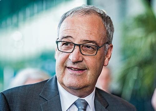 Bundesrat Guy Parmelin.