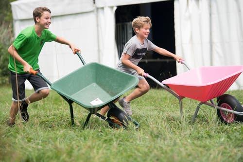 Kopf-an-Kopf-Rennen beim Orion-Cup. (Bild: Eveline Beerkircher, Sempach, 17. August 2019)