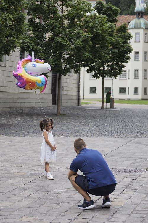 Auch das Einhorn durfte mit ans Fest. (Bild: Hanspeter Schiess - 17. August 2019)