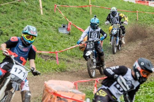 Impressionen von der Teffli-Rally 2019: In der Kategorie 1 ist Teffli-Tuning nicht nur erlaubt, sondern Teil des Wettkampfs. (Bild: Boris Bürgisser, Ennetmoos, 17. August 2019)