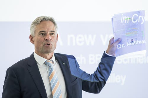 Matthias Michel, FDP. (Bild: KEYSTONE/Alexandra Wey)
