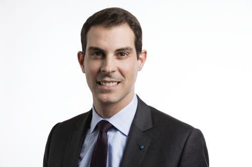 Thierry Burkart, FDP. (Bild: Keystone/Gaetan Bally)