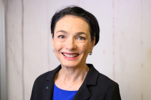Marianne Binder, CVP. (Bild: Alex Spichale)