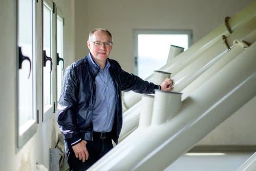 Hansjörg Knecht, SVP. (Bild: Mario Heller)
