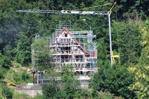 Auch der historische Landsitz Vogelsang wird komplett saniert.