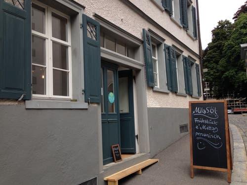 Das peruanische Café «Mila Sol» ist Teil des Projektes «Stattkloster». (Bild: Reto Voneschen - 21.8.2019)
