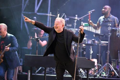 Herbert Grönemeyer bei seinem Auftritt in Arbon. (Bild: Donato Caspari)