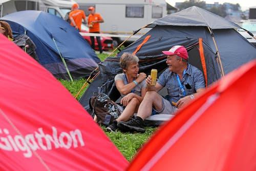 Impression vom Campingplatz. (swiss-image.ch/Photo Andy Mettler, 23. August 2019)