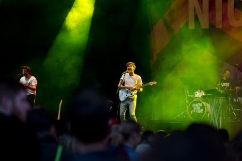 Impressionen vom Nickless-Konzert auf der V-Zug-Arena-Bühne. (Bild: Maria Schmid, Zug, 23. August 2019)