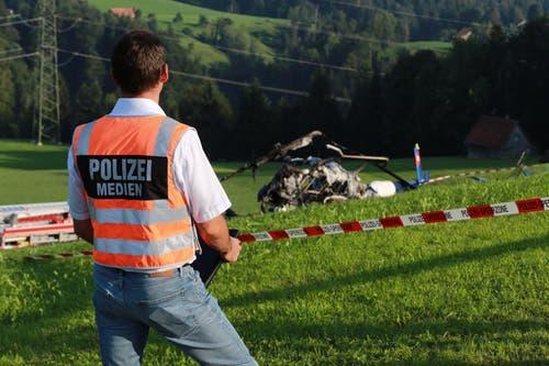 ... wurden durch die Kantonspolizei... (Bild: Raphael Rohner)