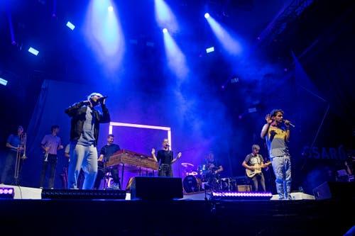 Konzert von Lo & Leduc. (Bild: Corinne Glanzmann, Zug, 24. August 2019)
