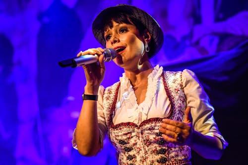 Francine Jordi. (Bild: Christian H. Hildebrand, Zuger Zeitung(Zug, 24.August 2019)