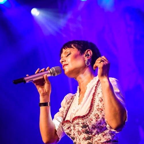 Francine Jordi. (Bild: Christian H. Hildebrand, Zug, 24.August 2019)