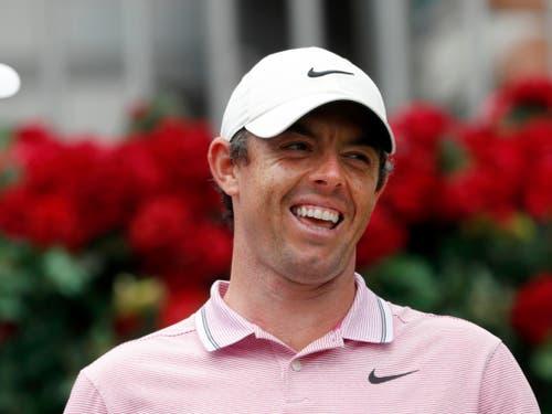 Lausbub und Multimillionär: Rory McIlroy (Bild: KEYSTONE/AP/JOHN BAZEMORE)